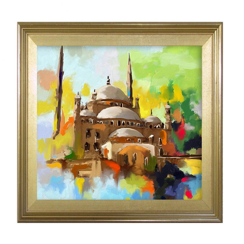 BlueMosque painting-52×52-38000