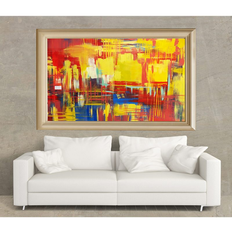 Abstract Colours -26×36-9500