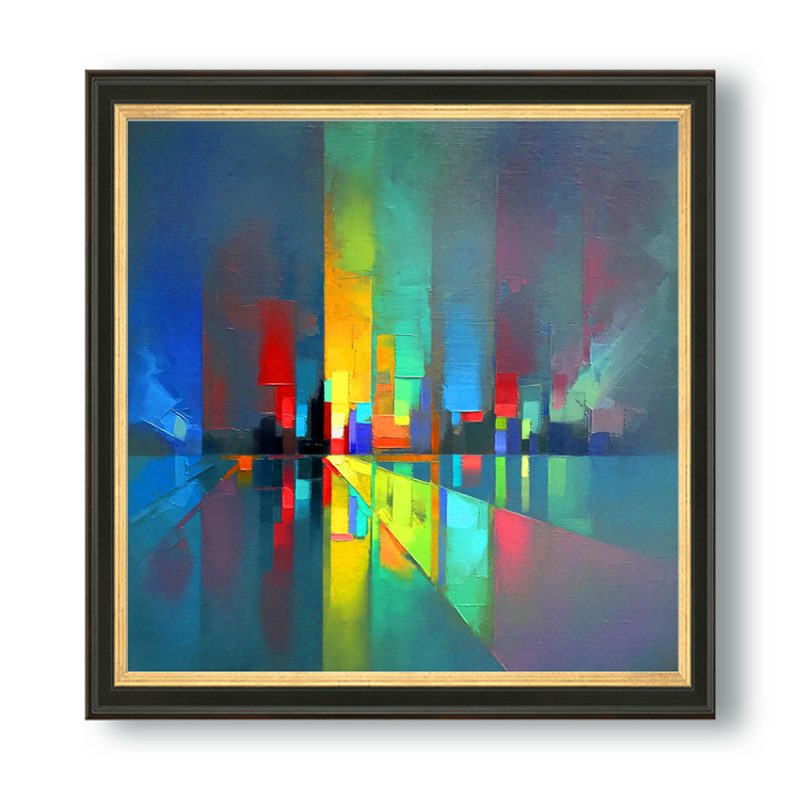 Building Abstract-20×20-6500