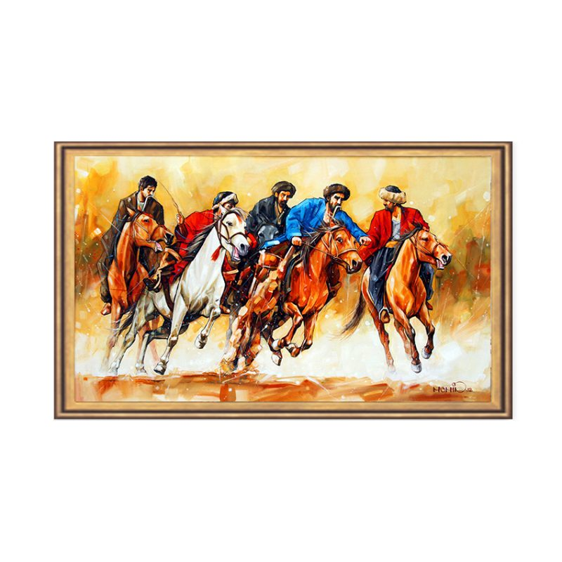 Horses Powerful-34×56-26500